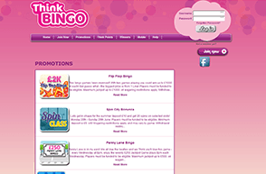 Free Bingo Games and Always New Promotions
