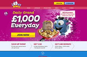 Bingo bonus offer online sign up fap roulette theme