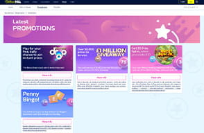 You can spend the welcome bonus on bingo and slots at William Hill