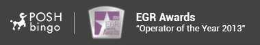 Posh won the Operator of the Year Award for 2013 at eGR