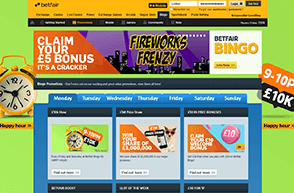 There are promotions for newbies and experienced players at Betfair.