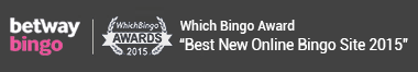 Betway won the award for Best New Bingo Site at WhichBingo 2015