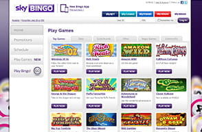 Newcomers at Sky get 7 Days of Free Bingo Games